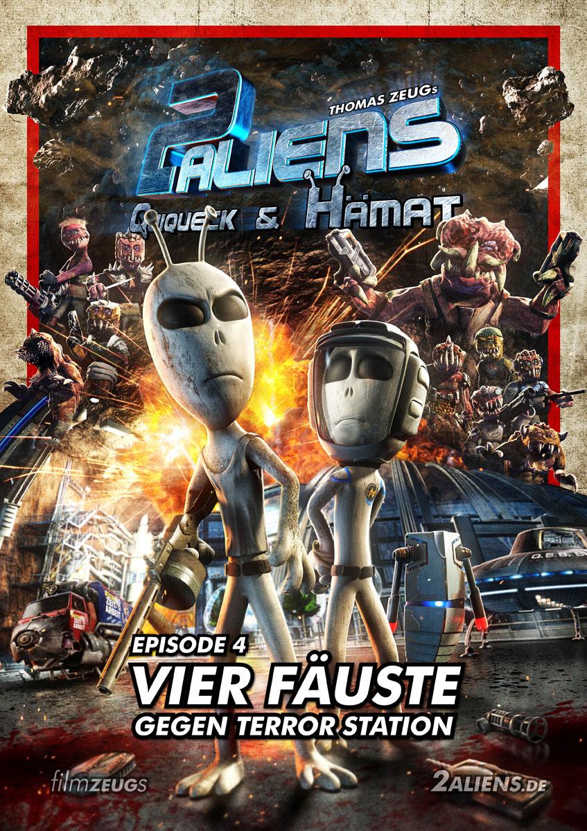 2 Aliens - Filmplakat