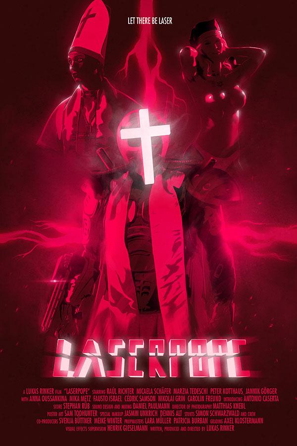 Laser Pope - Filmplakat