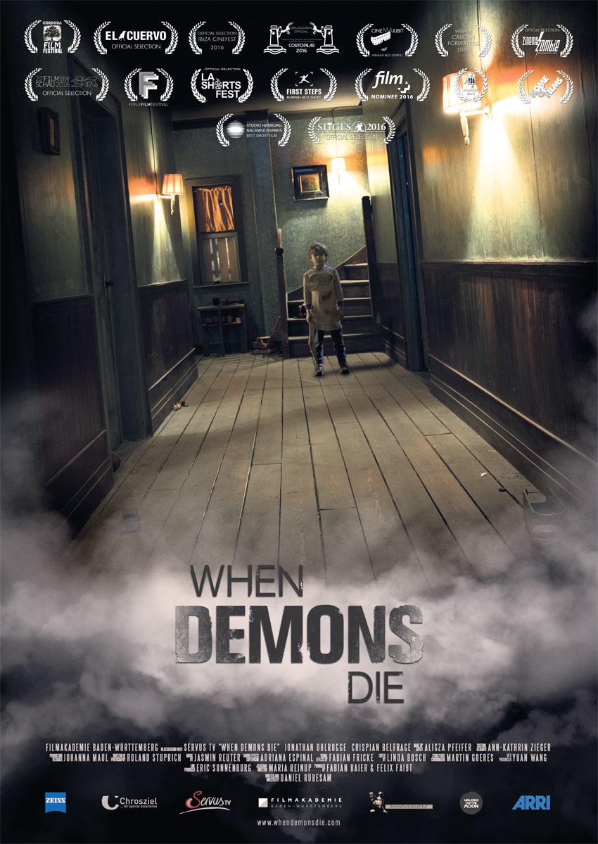When Demons Die - Filmplakat
